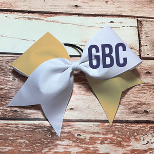 GBC Bow - Navy/Gold/White