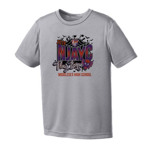NJAYC Flag Expo Shirt - Performance Grey