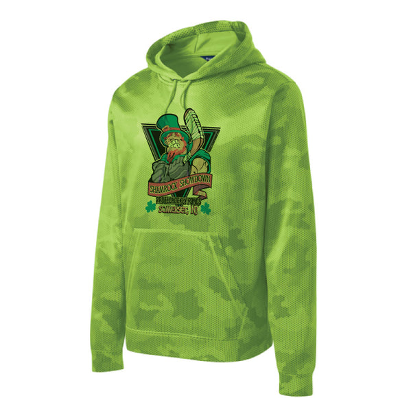 Shamrock Showdown Green Hoodie