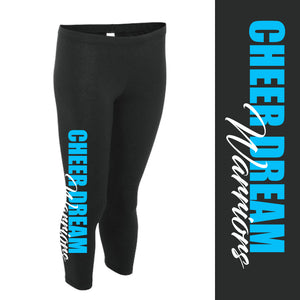 CDW Leggings - Blue And White