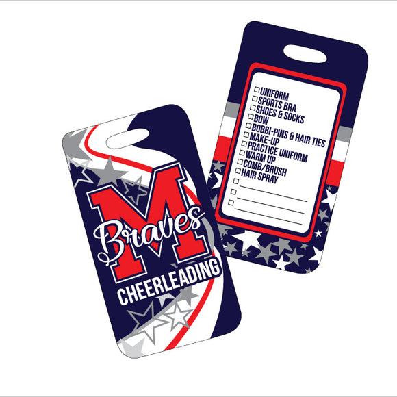 Braves Luggage Tag