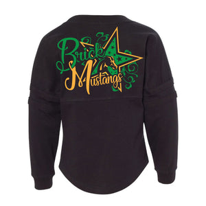 Brick Mustangs Cheer -Spirit Jersey