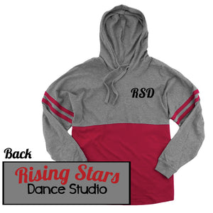 Rising Stars Hooded Spirit Jersey - Red