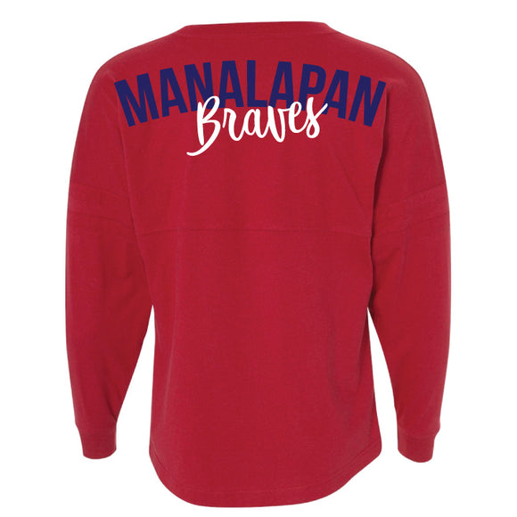 Braves Spirit Jersey - Red