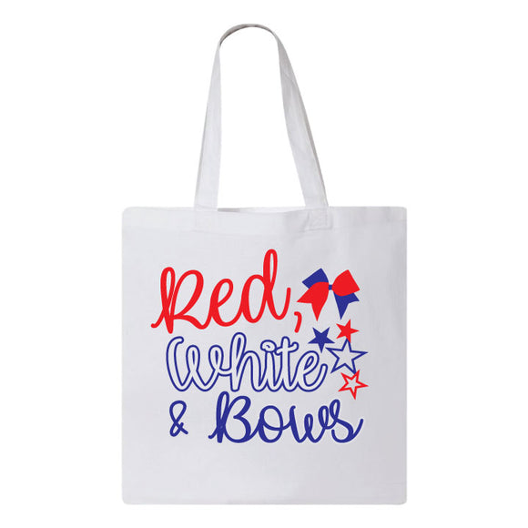 Red White & Bows Tote