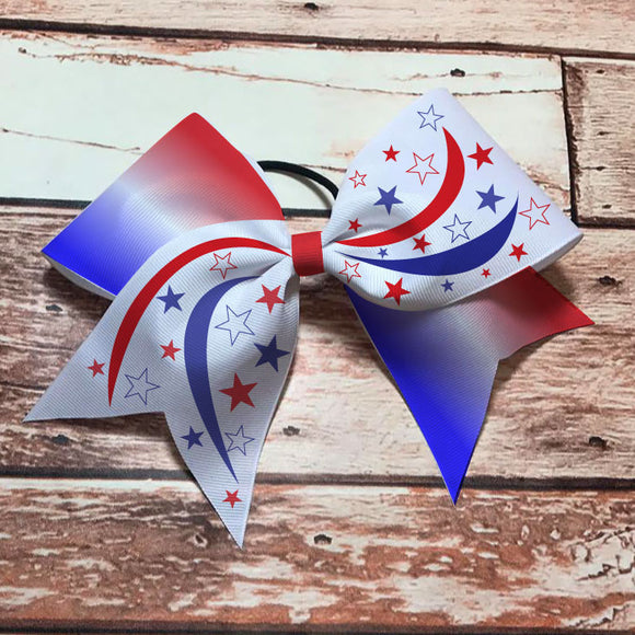 Red and Blue Stars