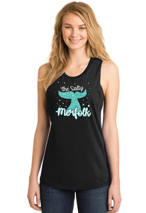 The Salty Merfolk Muscle Tank