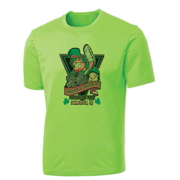 Shamrock Showdown Green Tee