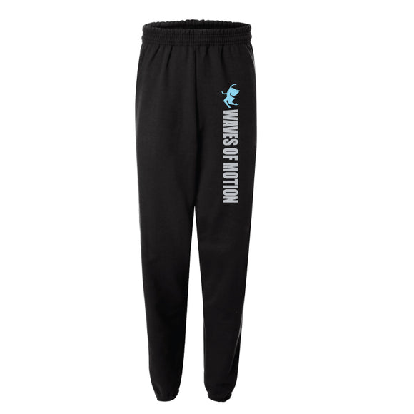 Waves of Motion -Cuffed Bottom Sweatpants