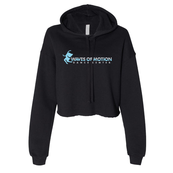 Waves of Motion_Cropped Hoodie _ Design 2