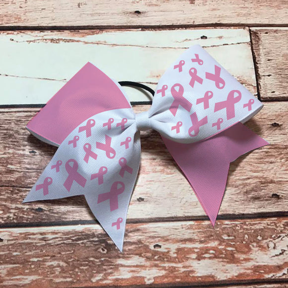 Cancer Awareness Bow