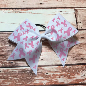 Cancer Awareness Ribbons Bow