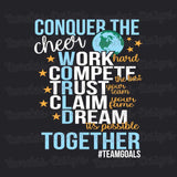 Conquer the cheer World Together - Tank