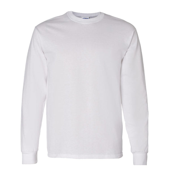 Gildan Long Sleeve - White