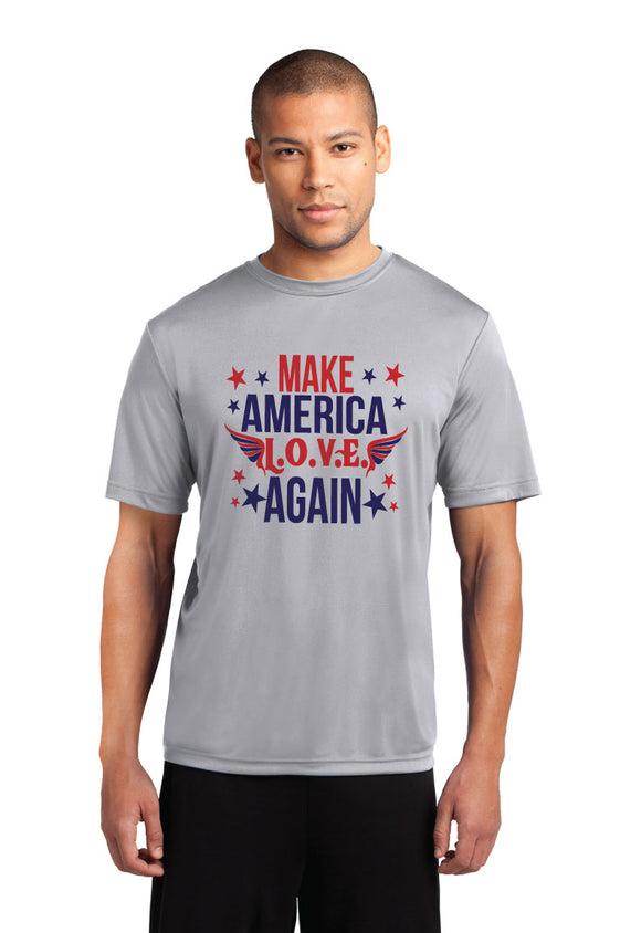 Make America Love Again Short Sleeve