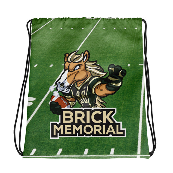 Brick Drawstring bag