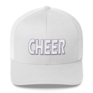 Cheer Embroidered Trucker Hat