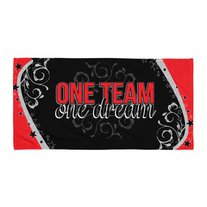 One Team, One Dream Beach Towel