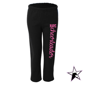 NJAYC Cheerleader Sweatpants - with Pink!