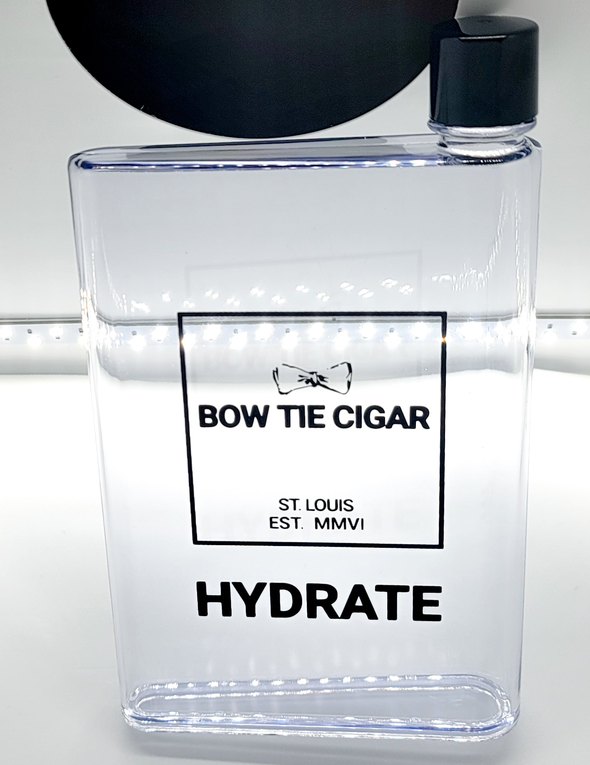 WATER BOTTLE FLASK - BOW TIE CIGAR