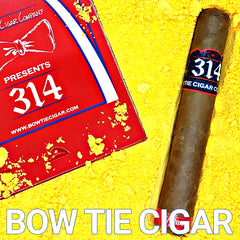 BOW TIE CIGARS PRESENTS - 314 - RED LABEL BOW TIE - 5 PACK CIGARS - Bow Tie Cigar