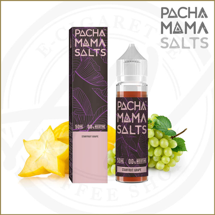 Pacha Mama Salts | Starfuit Grape