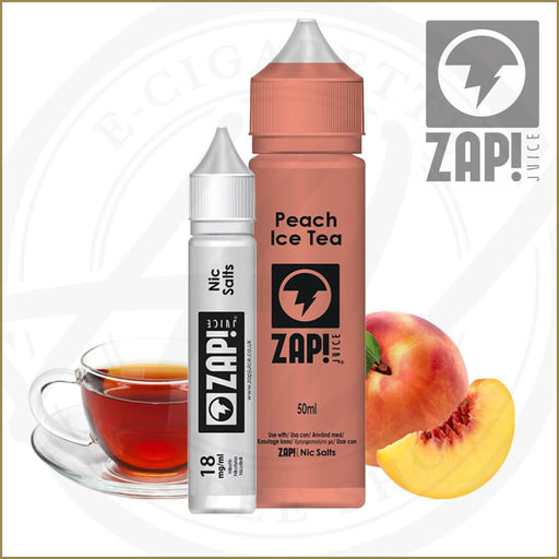 E-Liquids - Peach Iced Tea