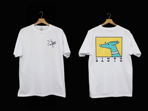 Limbo Short-Sleeve white 'Dog' Tee - ex stock