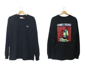 Limbo Long-Sleeve Black 'Horus' Tee