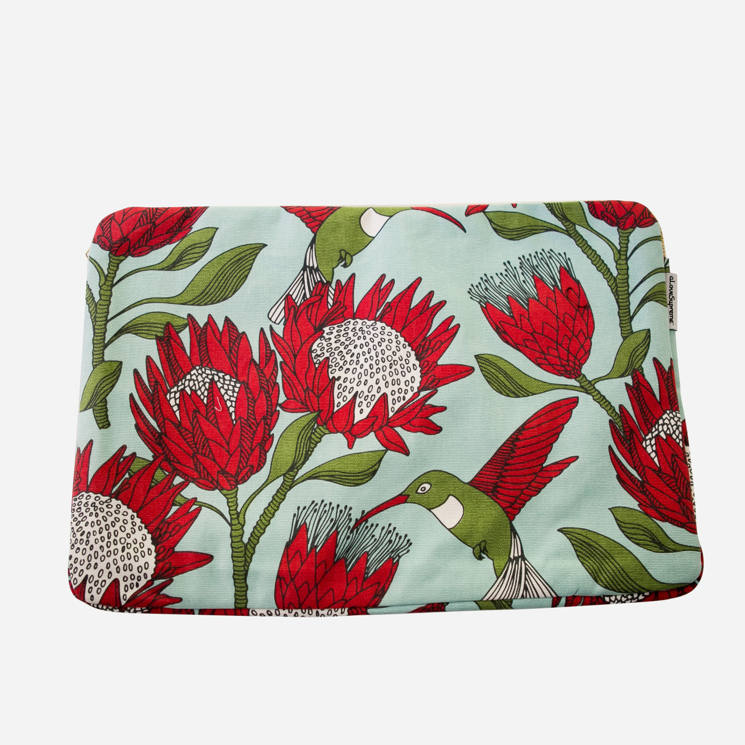 Laptop Sleeve: Protea Blue