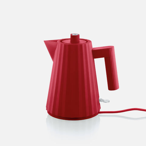 Plisse Electric Kettle - Red
