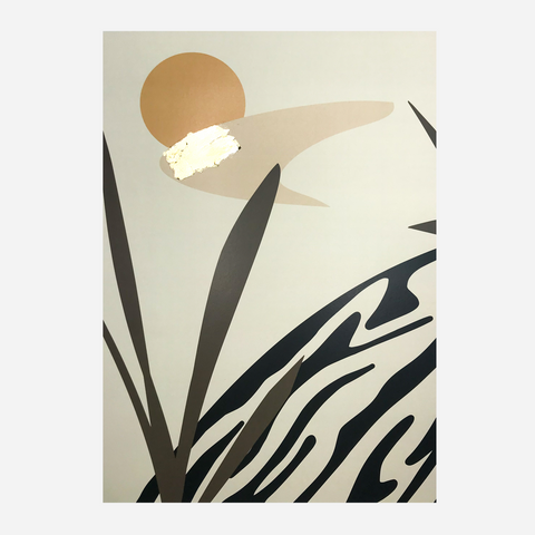 Abode Art Print - Sun & Shapes