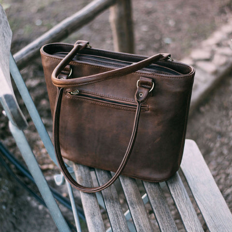 Lady Handbag - Brown