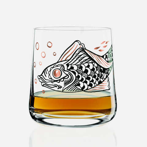 Whiskey Glass - Olaf Hajek (Jasconius)