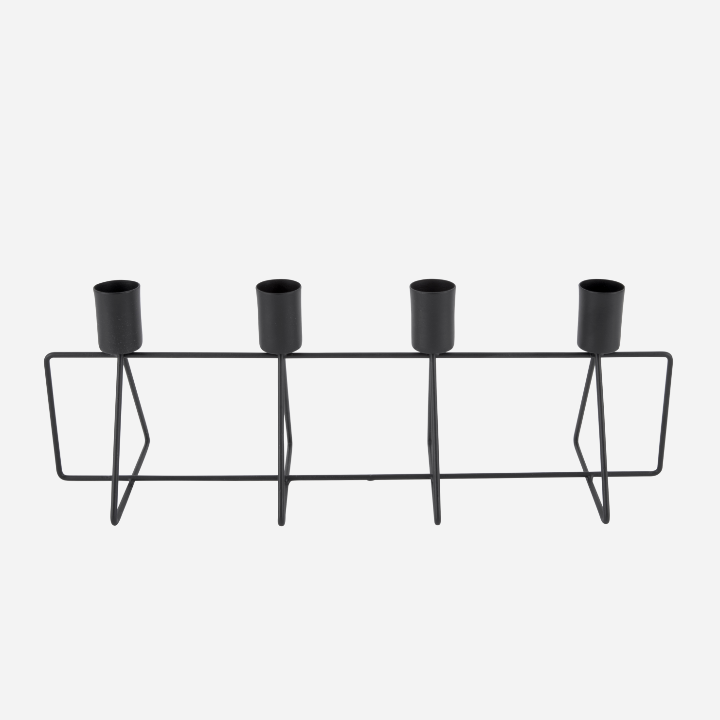 Eld Candle Holder - Black