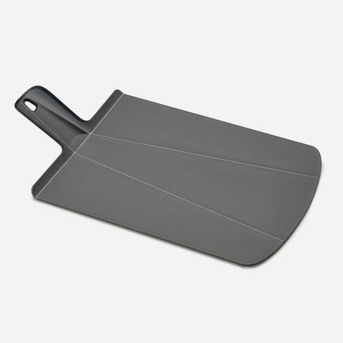 Chop2Pot Plus Chopping Board - Large Dark Grey