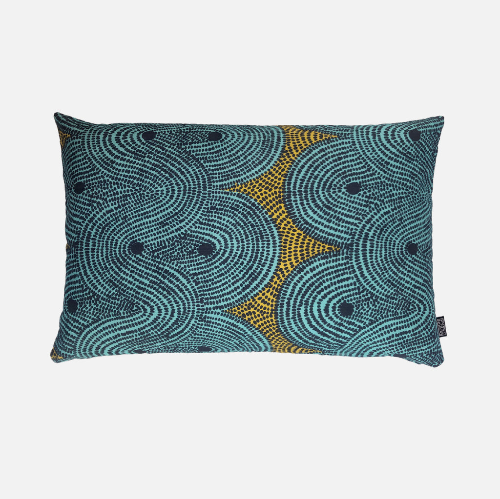 Scatter Cushion - Crop Field Aqua
