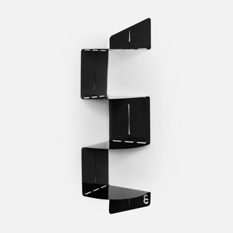 U-Bend It Corner Shelf (Black)