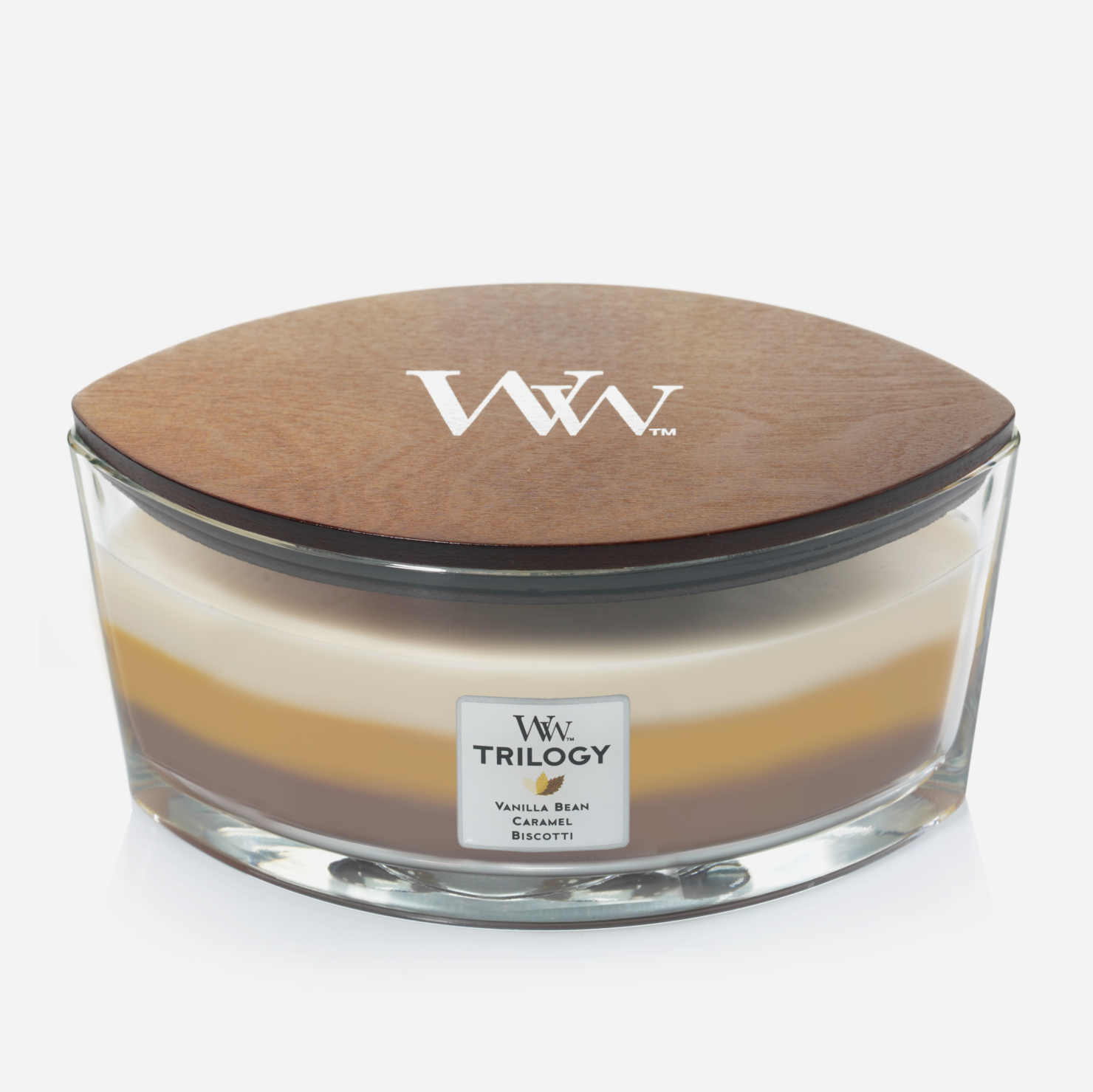 WoodWick Ellipse Candle - Cafe Sweets