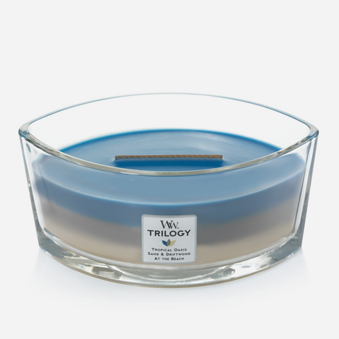 WoodWick Ellipse Candle - Nautical Escape