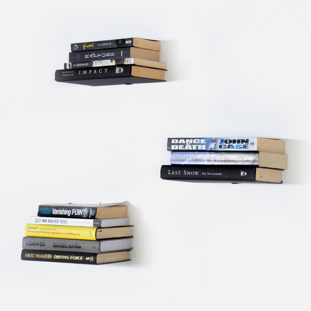 Floating Bookshelves - Set of 3