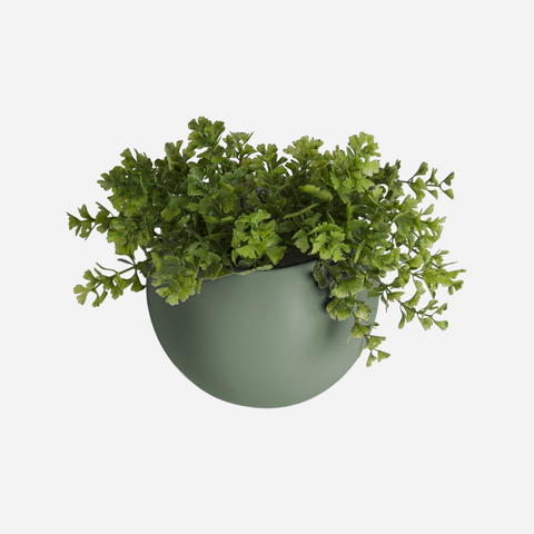 Globe Wall Planter - Green