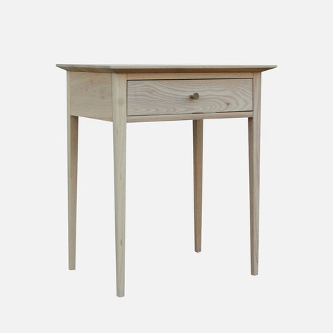 Maine Bedside Table - White Ash