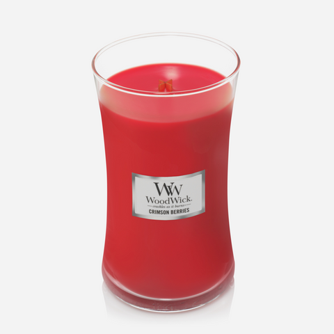 WoodWick Large Candle - Crimson Berries