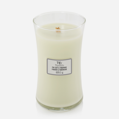 WoodWick Large Candle - Fig & Tuberose