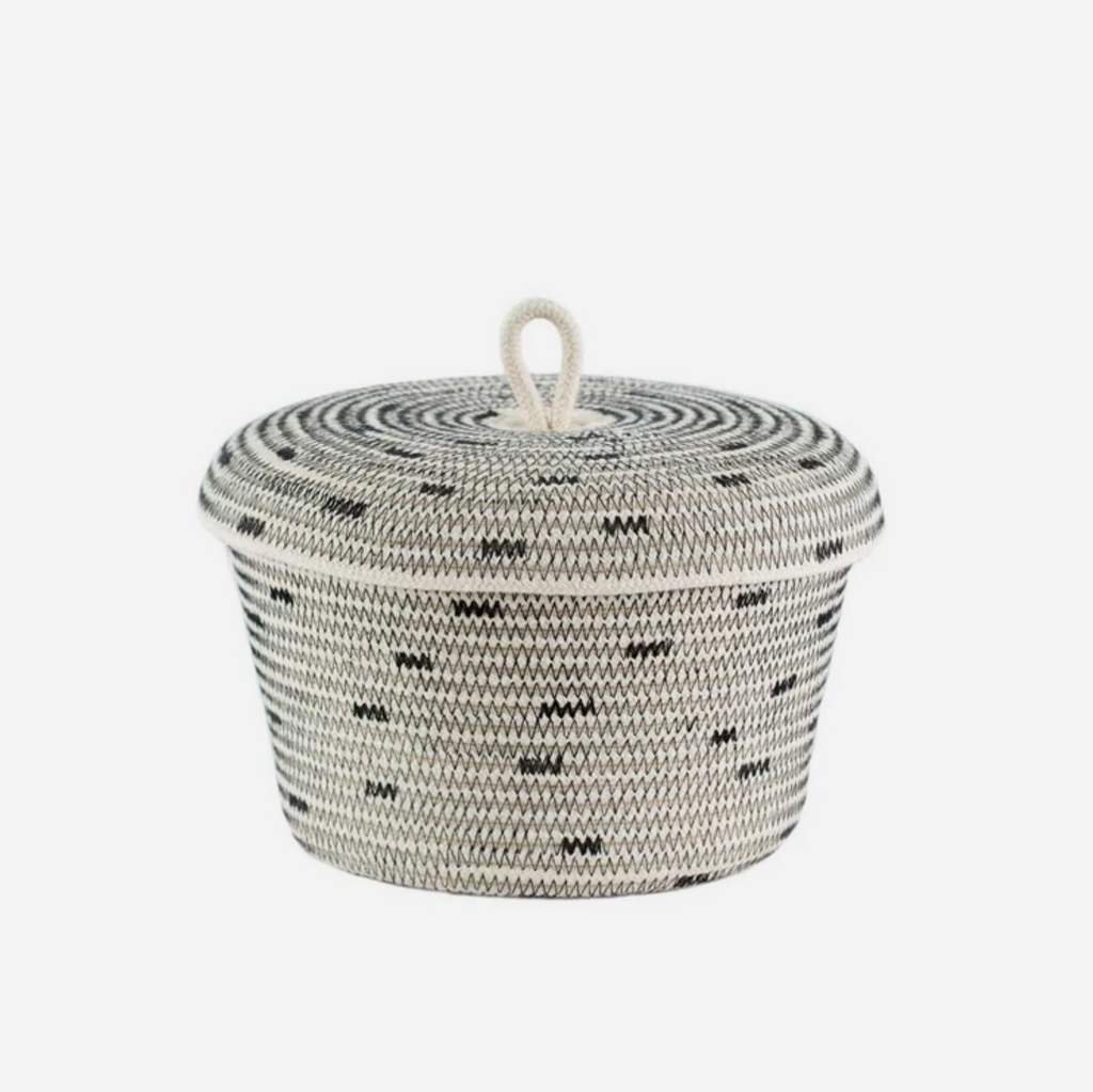 Lidded Basket - Stitch