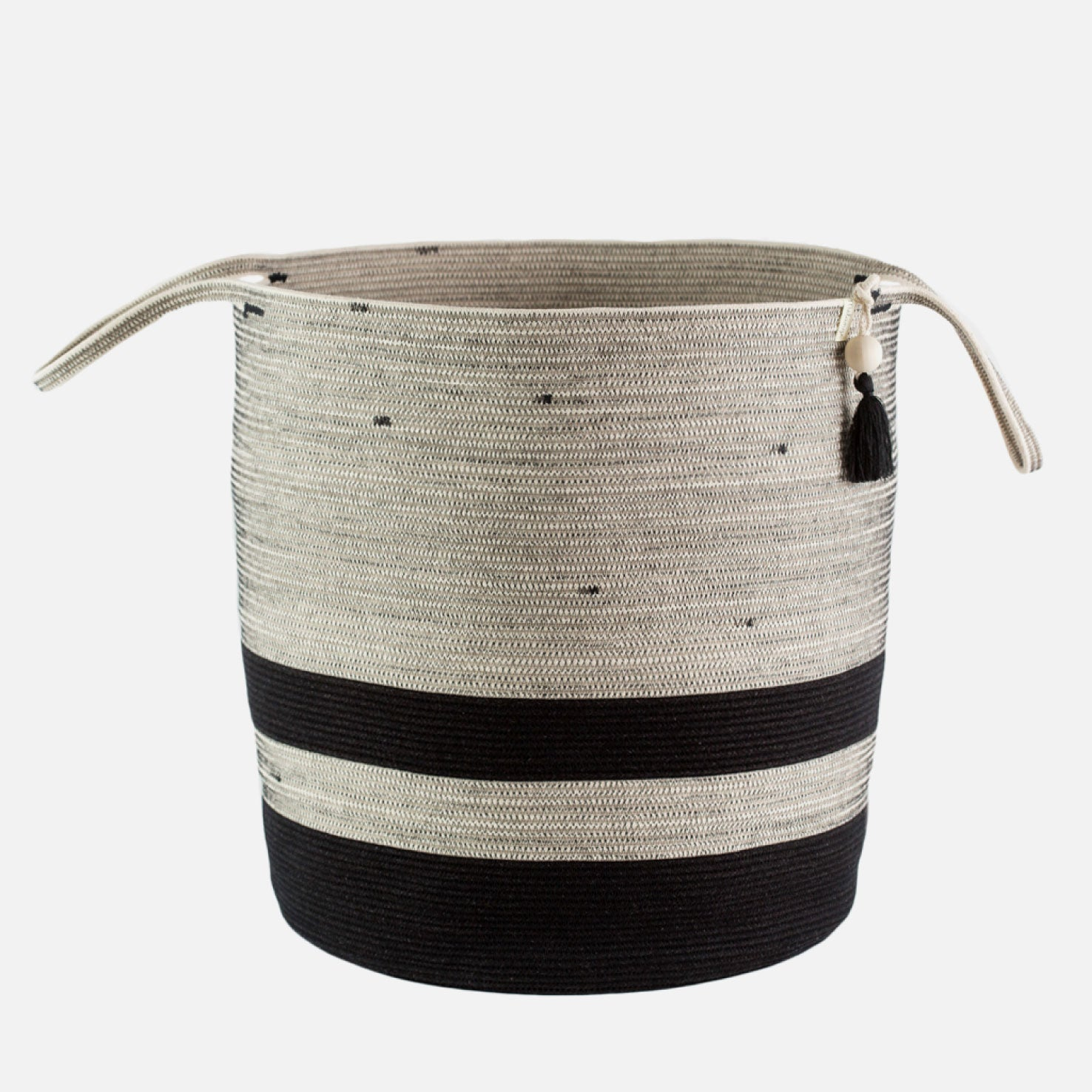 Large Floor Basket - Liquorice