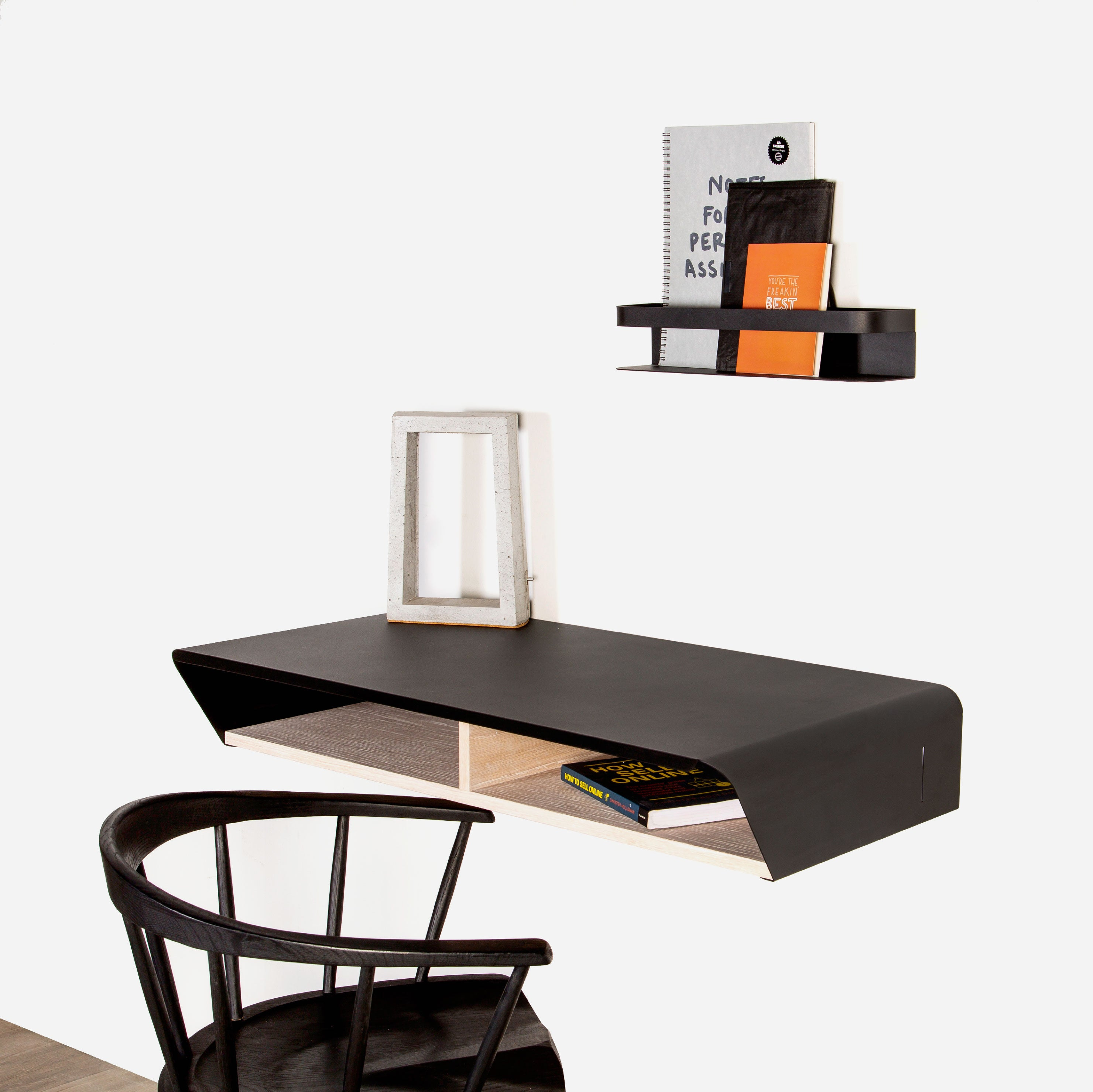 Minima Work Desk (Black)