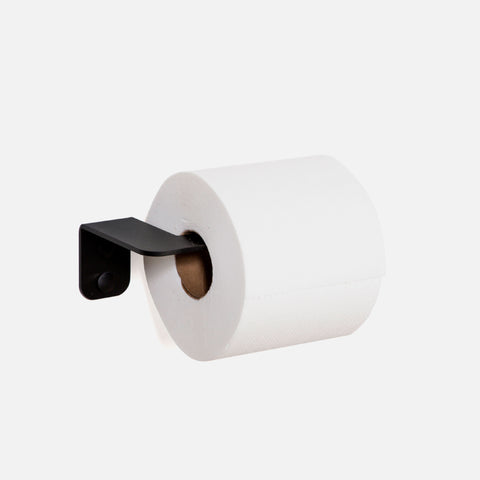 Nero Toilet Roll Holder - Black