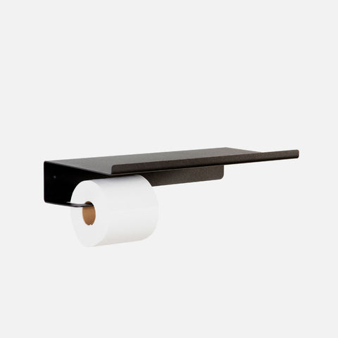 Nero Bathroom Shelf - Black